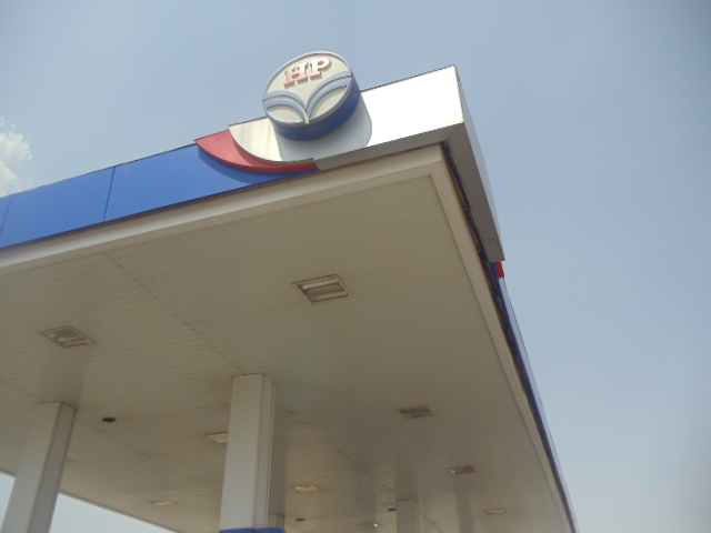 Oil Company Prefabricated Canopy For Hindustan Petroleum